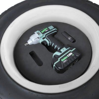 Kielder Spare Wheel Impact Wrench Holder