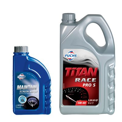 Fuchs Titan Race Pro S Engine Oil – FREE 1L Concentrated Screenwash