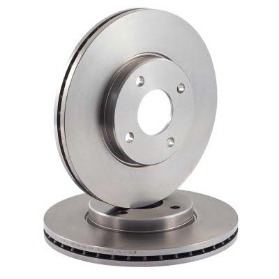 EBC Brakes OEM Replacement Rear Discs – Pair