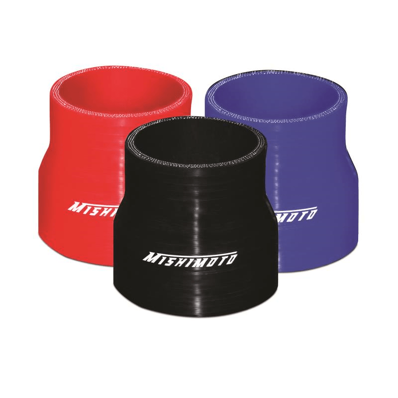Mishimoto 2.5″ to 3″ Silicone Transition Coupler, Various Colours