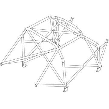 Custom Cages – Suzuki Swift MK1 89-94 T45 Roll Cage