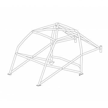 Custom Cages – Talbot Sunbeam Historic CDS Roll Cage