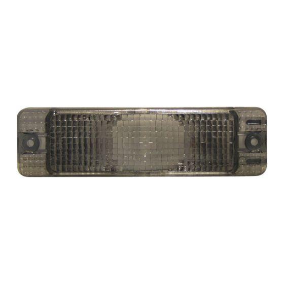 AutoArt Front Indicator – Smoke, Grey