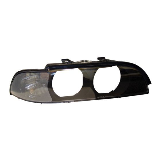 AutoArt Front Indicators With Integrated Headlamp Housing – Clear, Clear