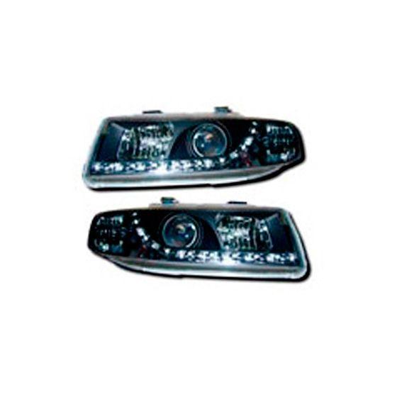 AutoArt Headlights – Black DRL