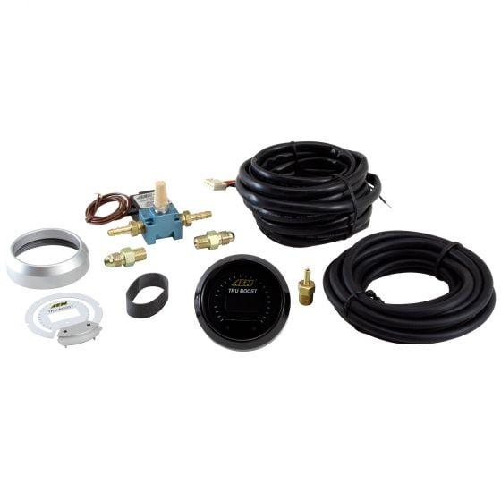 AEM Electronics Tru-Boost Controller Gauge, Black