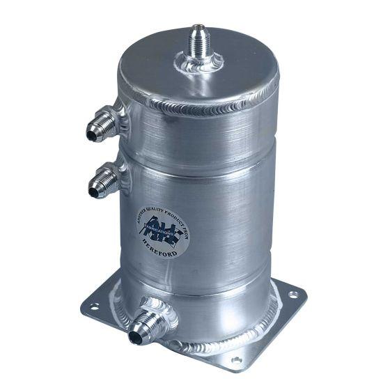 A H Fabrications Alloy Swirl Pot – 1.5 Litre Capacity JIC Fittings