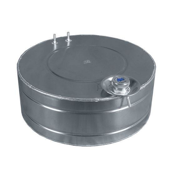 A H Fabrications Round Alloy Fuel Tanks – 7 Gallon Capacity Round