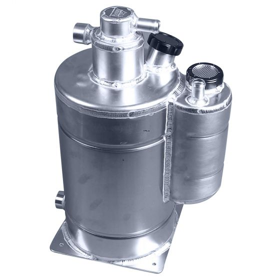 A H Fabrications Millington Approved Dry Sump Tank With Catch Tank