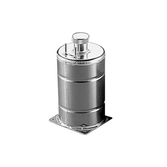 A H Fabrications Round Alloy Fuel Tanks – 1 Gallon Capacity Round
