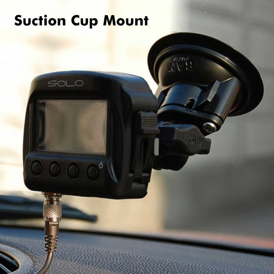 AIM Motorsport Mounting Bracket To Suit Solo and Solo2 – Windscreen Suction Mount