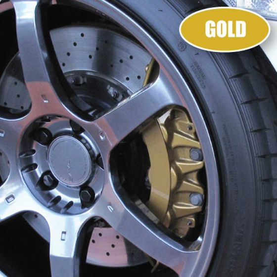 E-Tech Engineering Brake Caliper And Engine Bay Paint – Gold, Gold