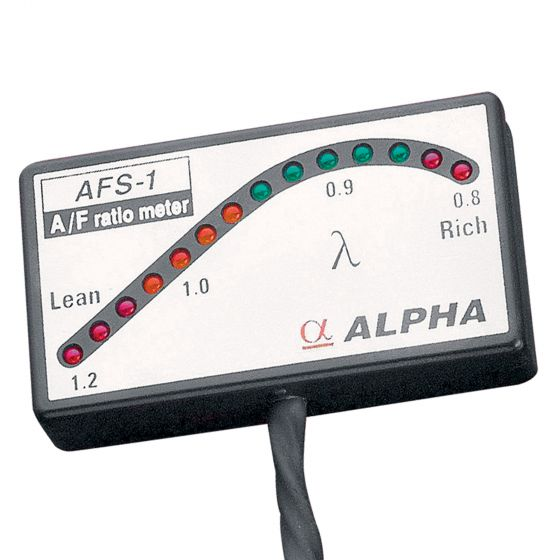 Alpha Air Fuel Ratio Meter, Black