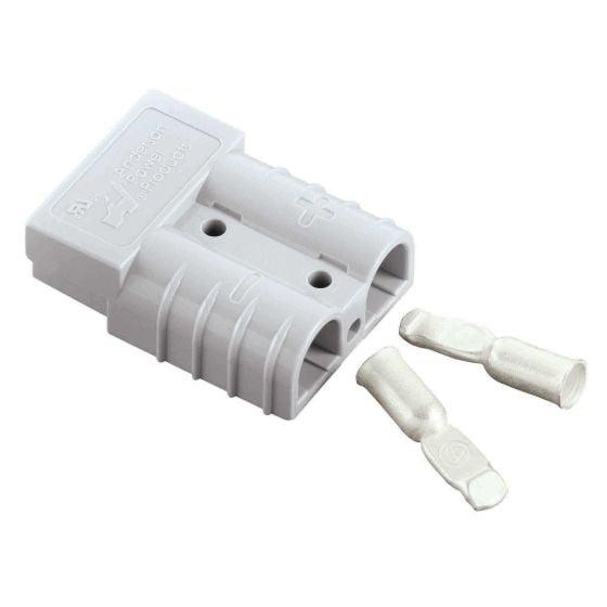 Anderson Jack Plugs – Small Jack Plug (Half) Grey – 50 Amp
