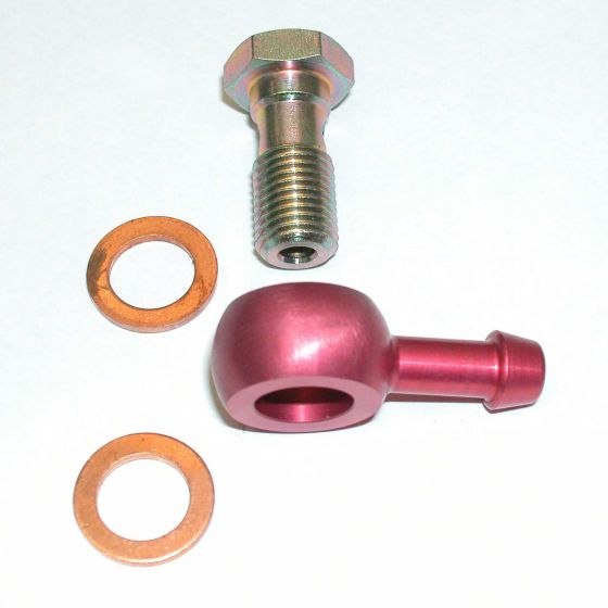"A P Racing Push On Banjo Adaptor Kit – 7/16"" UNF"