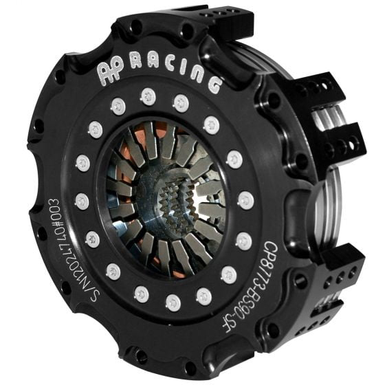 "A P Racing 5.5"" I-Drive Metallic Race Clutch – Four Plate Pull Type"