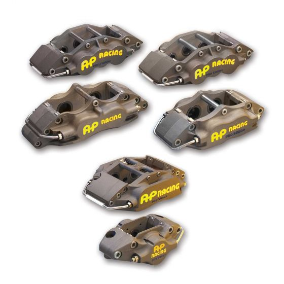 A P Racing Pro 5000 Plus Brake Calipers – 4 Pot Right Hand Trailing