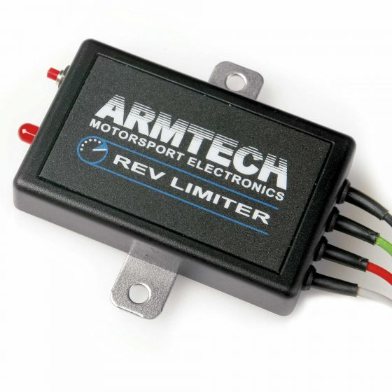 Armtech Panel Mounted Rev Limiter With Full Throttle Gearshift – Twin Coil Version