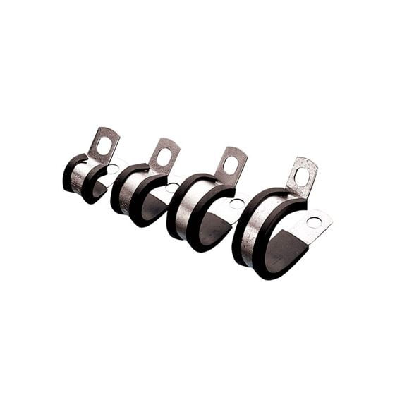 Automec Rubber Lined P Clips – 30.1mm Zinc Plated Pack Of 10