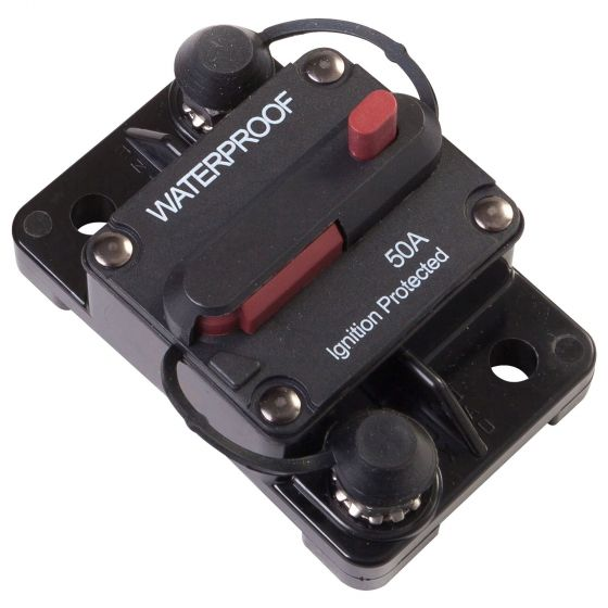 Auto Marine Switchable Circuit Breakers – 80a Surface Mount