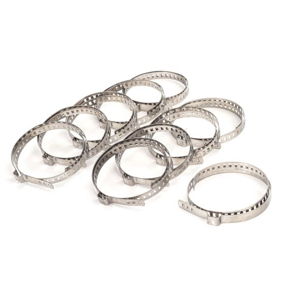 Demon Tweeks Stainless Steel EAR Clamps – Large – Pack of 10