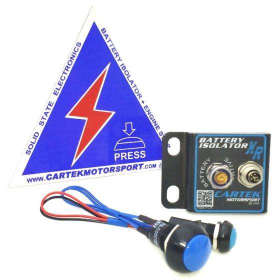 Cartek XR Solid State Battery Isolator – Unit Only