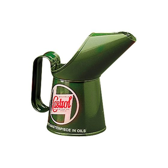 Castrol Replica Pouring Cans – Half Pint