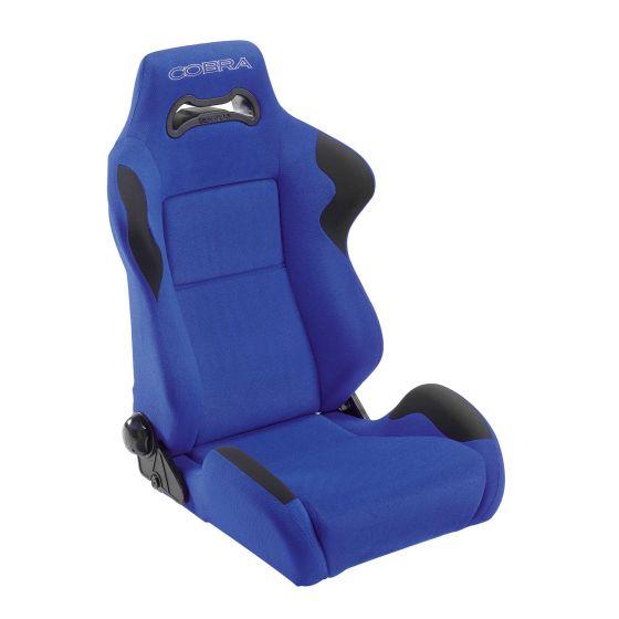 Cobra Daytona Seat – Blue Spacer Fabric, Blue
