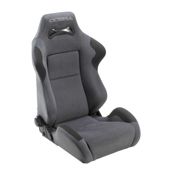 Cobra Daytona Seat – Grey Leather, Grey