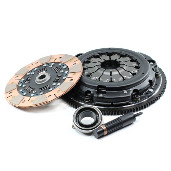 Competition Clutch Stage 3 Street/Strip Series 2600 Clutch Kit – Segmented Ceramic Up to 250lbs Torque – Cable