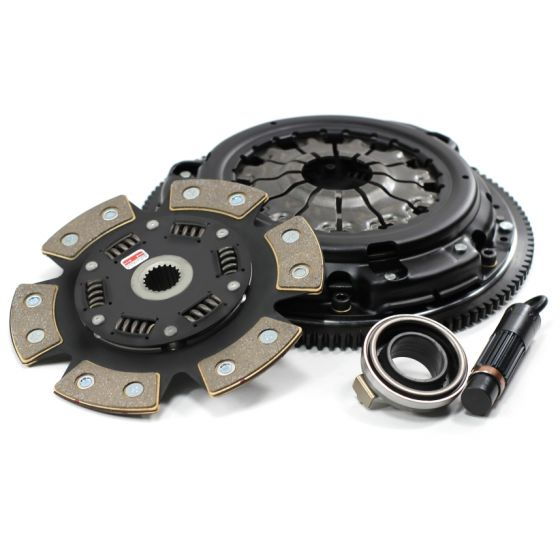 Competition Clutch Stage 4 1620 Strip Series Clutch Kit – 6 Pad Ceramic Up to 275lbs Torque – Cable
