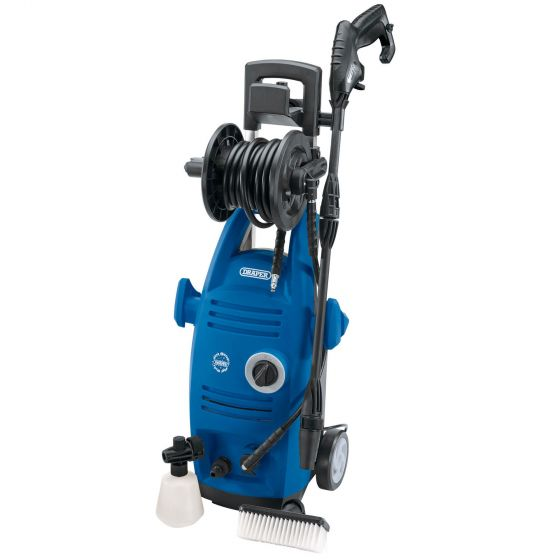 Draper 1900W 230V Pressure Washer with Total Stop Feature – PW1930