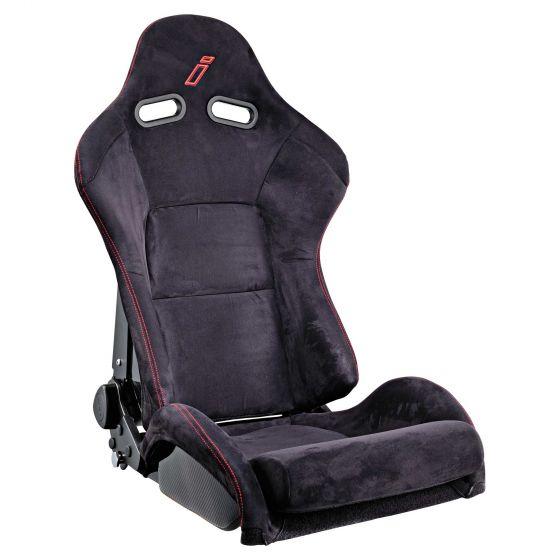 Drift Estoril Carbon Recliner Seat, Black