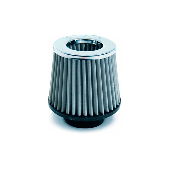 Drift Twin Cone Metal Cap Filters – 75mm Neck ID, Cone, Stainless
