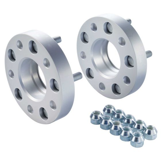 Eibach Pair of 15mm Pro-Spacer Wheel Spacers (Kit) – 5×105 PCD, System 4, 56.5mm Centre Bore, M12x1,5 Thread