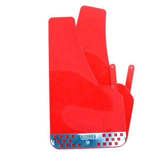 E-Tech Engineering Mud Flaps – Red