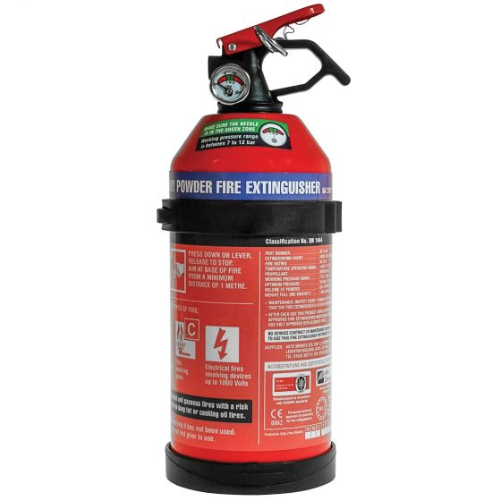 E-Tech Engineering 1Kg Dry Powder Fire Extinguisher