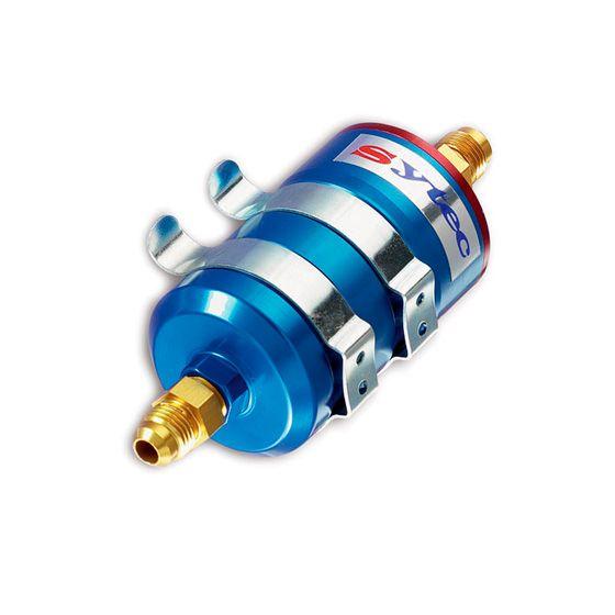 Sytec Motorsport High Flow Fuel Filter – 15mm Inlet 8mm Outlet