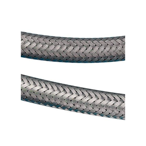 "Mocal Stainless Braided Fuel Hose – 3/8"" id  / 10mm 0.86in od with stainless steel cover"