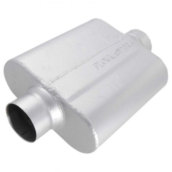 "Flowmaster 40 Series Muffler / Silencer – 3.0"" Inlet / Outlet"