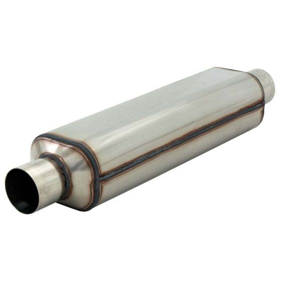 "Flowmaster Stainless HP2 Race Muffler – 12"" Long 2"" ID"
