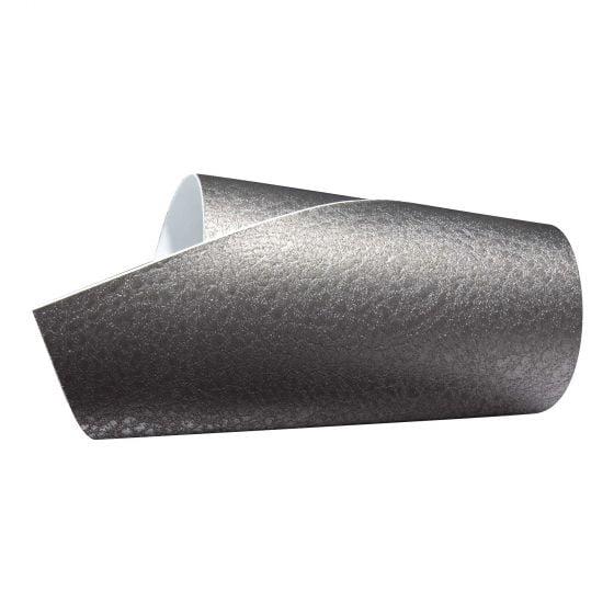 Foliatec Cockpit Design Film – Grey Metallic Leather Effect 122 x 50cm