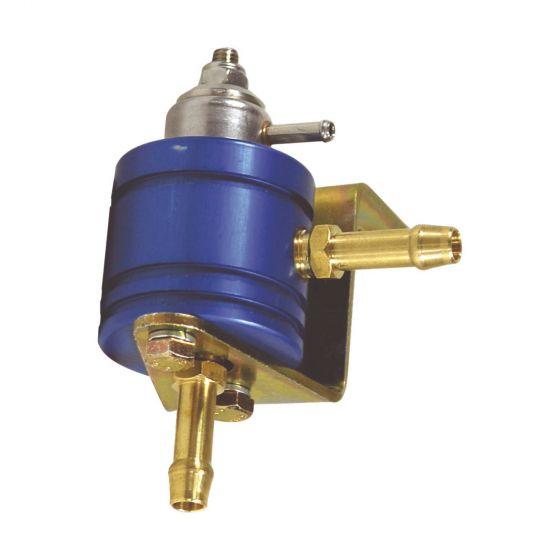 Alpha Adjustable Fuel Pressure Regulator – Blue