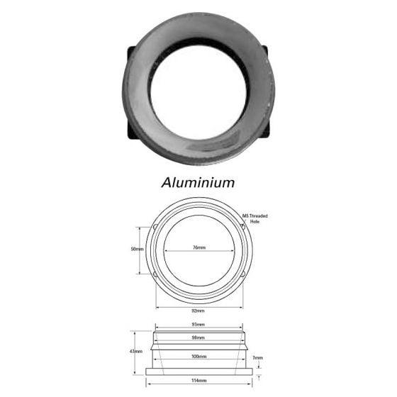 Green Filters Airflow Meter Adaptor – Option 18