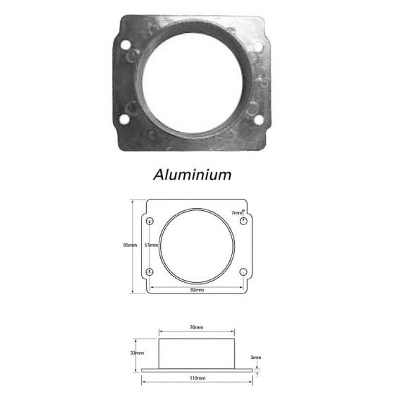 Green Filters Airflow Meter Adaptor – Option 19