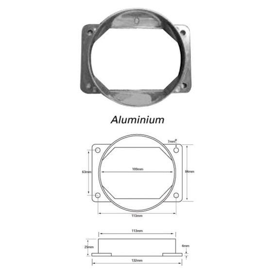 Green Filters Airflow Meter Adaptor – Option 20