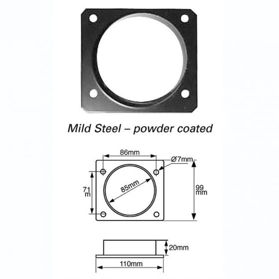 Green Filters Airflow Meter Adaptor – Option 3