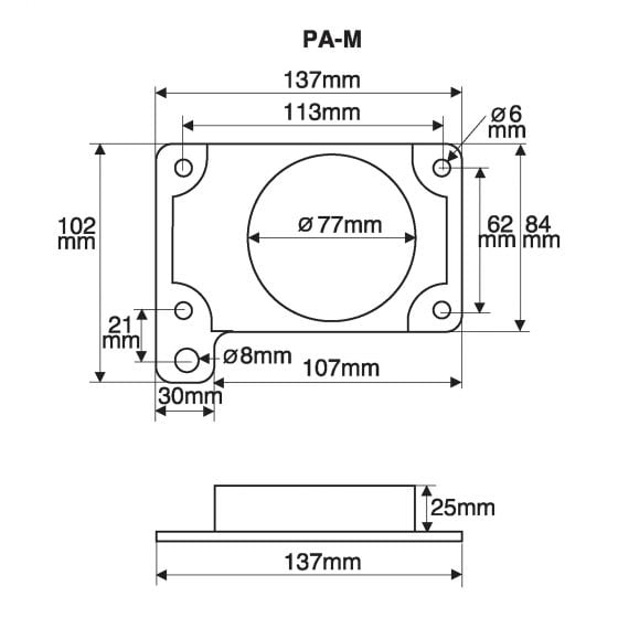 Green Filters Airflow Meter Adaptor – Option 12