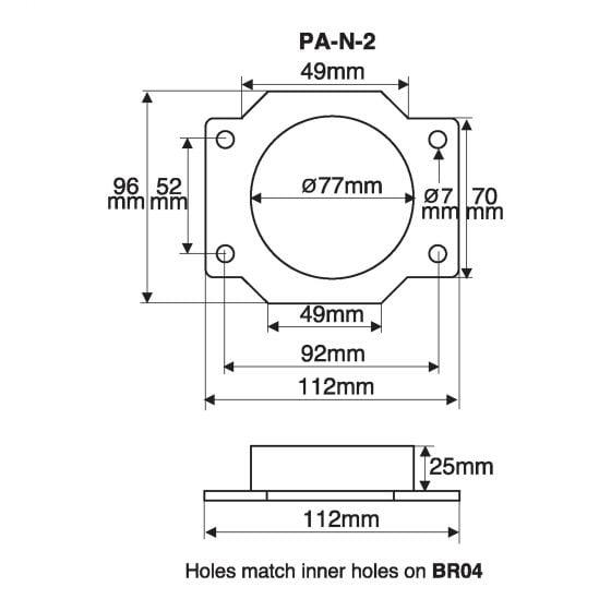 Green Filters Airflow Meter Adaptor – Option 13