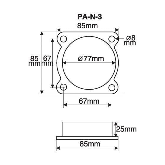 Green Filters Airflow Meter Adaptor – Option 9